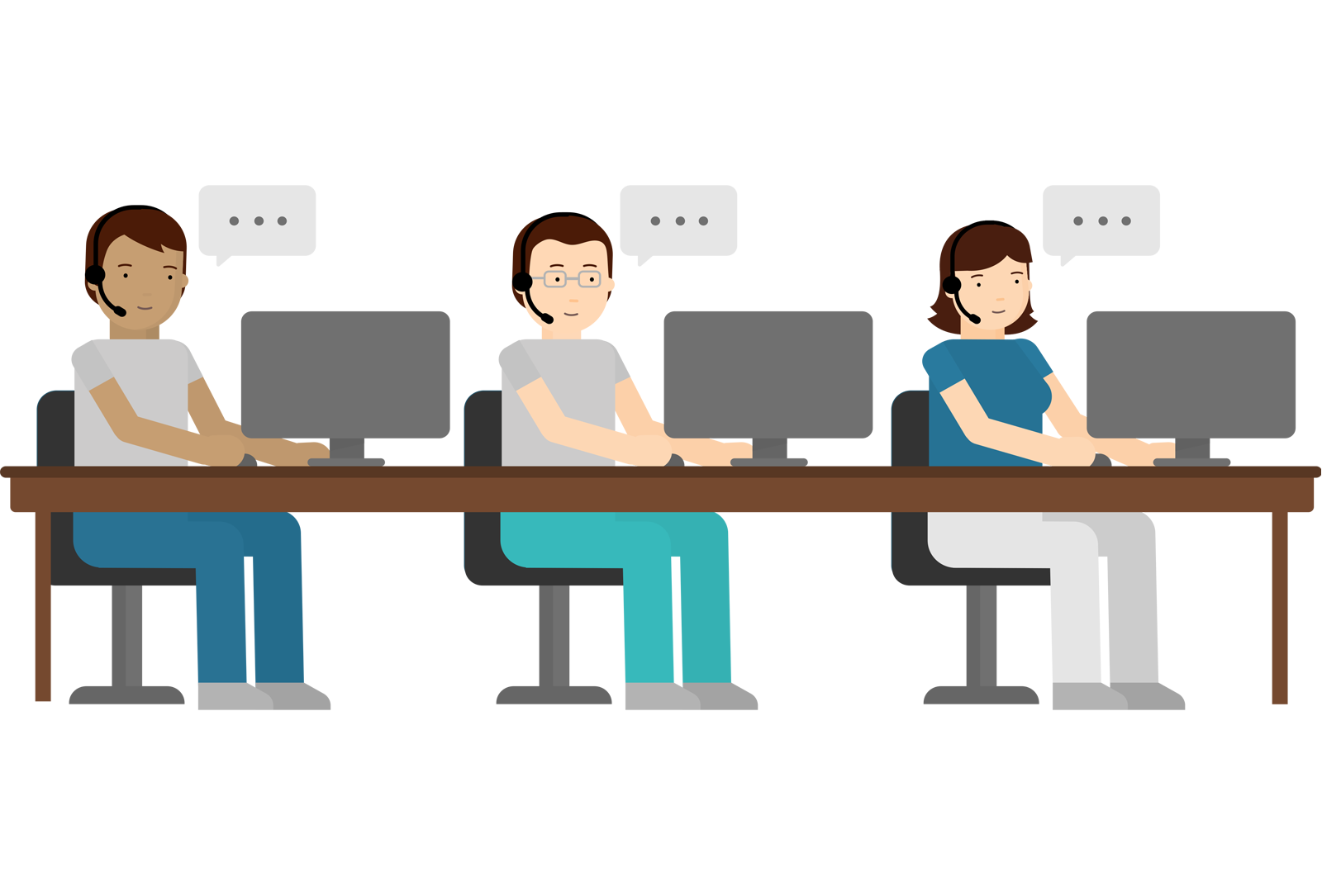 Online Employee Scheduling for Call Centres